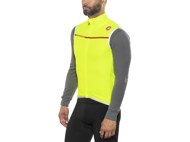 Castelli Perfetto Vest Herrer, yellow fuo